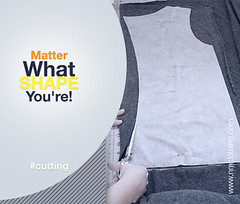 Matter what Shape you're! (nmclothing) Tags: cutting shape matter garments fabric nmclothing clothing