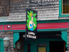 Carmen Verandah (keyphan06) Tags: newengland 2016 maine barharbor streetscenes