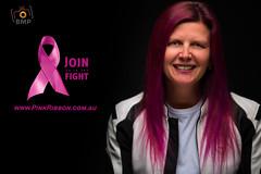 Cancer Doesn't Kill Anybody! (Brendan Maunder Photography) Tags: cancer charity pinkribbonday portrait portraitphotographer elinchrom femalemotorbiker softbox studio studiolights