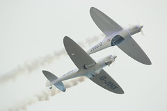 Twister Duo (Rob390029) Tags: twister duo display team pair 2 wells silence twisters gjinx gtwst flying flight airborne aerobatics sunderland international air show 2016 seaburn civil civilian aviation prop props propeller propellers aircraft plane planes formation