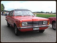 Ford Taunus TC1 GXL 2.3, 1975 (v8dub) Tags: ford taunus tc 1 gxl 2 3 1975 schweiz suisse switzerland german pkw voiture car wagen worldcars auto automobile automotive old oldtimer oldcar klassik classic collector