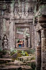 Preah Khan (Gabriela Nakayoshi) Tags: preahkhan camboya asia cambodia d90 nikon temple 500mmf14