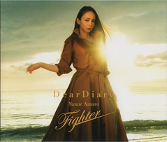 (CD jacket) Dear Diary_Fighter (3) (Namie Amuro Live ) Tags: namie amuro  deardiary deathnote fighter singlecover jacketsscans cdonly