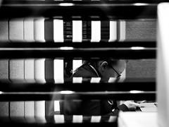 (sms) .../ Please set me free!! (SibretManu) Tags: streetphotography portrait street black white bw noir et blanc monochrome candid going moments decisive moment creative commons flickr flickriver explore eyed eye scene strassenfotografie fotografie city square squareformat photography