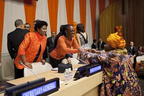 United Nations commemorates the International Day to End Violence against Women on 25 November 2014