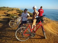 Excursión en bicicleta por los acantilados de Conil