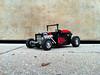 Roadster - Fire bucket (sm 01) Tags: ir lego technic hotrod rc motorized pf roadster