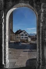 image (Tango_T) Tags: lago campagna castello viaggio paesaggio rapperswiljona nataleinsvizzera