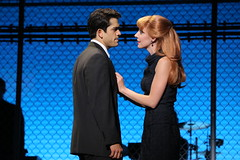 (l to r) Hayden Milanes and Jaycie Dotin in the Broadway Sacramento presentation of JERSEY BOYS at the Community Center Theater Nov. 5 – 22, 2014. Photo by Joan Marcus.