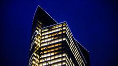 Blue Hour... (THE.ARCH) Tags: nyc newyorkcity architecture skyscraper newyorkny goldmansachstower peicobbfreedpartners henrycobb 200weststreet