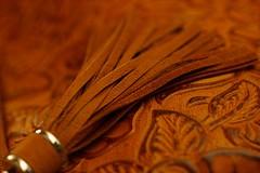 Leather tassel - (Explored) (JLS Photography - Alaska) Tags: macro leather closeup purse gift closeups handbag macroshot tassel macromondays jlsphotographyalaska
