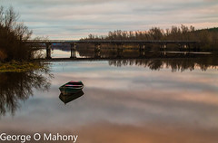 Fiddown Reflections (George O Mahony) Tags: river fiddown reflections boats bridge ireland kilkenny waterford