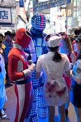 Halloween Night Costumes in Shibuya (tokyofashion) Tags: costumes party halloween japan japanese tokyo costume cosplay shibuya halloweencostume  halloweencostumes 2014