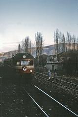 """Black Diamond"" dmu at Caycuma (TrainsandTravel) Tags: turkey turquie trkei standardgauge dieseltrains trainsdiesel normalspur voienormale caycuma"