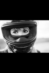 b91 (no_penetrate) Tags: girl helmet moto balaclava