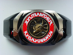 Dino Buckler (Dragon Chan2009) Tags: coin power dino super mighty rangers legacy morpher sentai buckler morphin kyoryu zyuranger gobusters kyoryuger