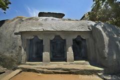 Adivaraha Cave temple (paolo.gislimberti) Tags: india archaeology temples hindu hinduism tamilnadu mamallapuram templi induismo archeologia sacredart religiousarchitecture artesacra architetturareligiosa