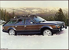 wagon eagle amc limited brochure 1985