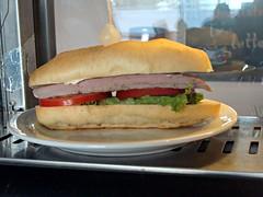 Sandwich (knightbefore_99) Tags: food west art tomato mexico coast sunny playa sandwich mexican lettuce oaxaca tropical secrets huatulco