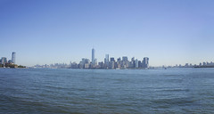 Panorama from Liberty Island