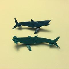 Origami Hammerhead Shark 1 Origami Hammerhead Shark