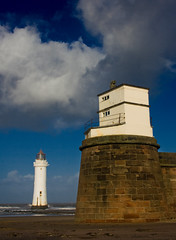 Perch Rock (Sam Knox) Tags: sea england storm castle beach liverpool coast waves northwest coastal shore riverfront seafront mersey wirral newbrighton merseyside irishsea rivermersey fortperchrock newbrightonlighthouse perchrock perchrocklighthouse liverpoolskyline januarystorms