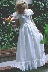 Young Bride (Sophie.Dituri) Tags: flowers portrait people woman lady dark dress darkness magic editorial expressive theme conceptual