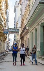 Calles de La Habana (GeorgeShell) Tags: show old city cars night noche havana cuba ciudad antiguos ruinas carros cabaret lahabana