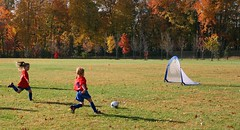 Red Warriors (meredithalisonphotography) Tags: girls sports kids canon outdoors newjersey outdoor soccer foliage athlete redheads gardenstate soccermom soccersaturdays