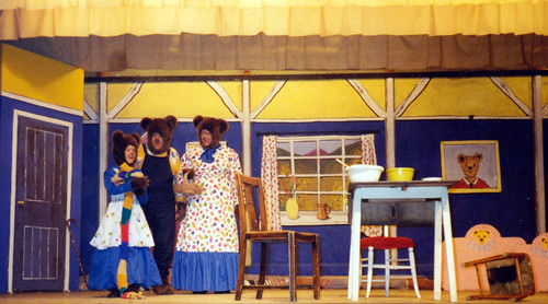 1993 Goldilocks and the Three Bears 08 (from left Sally Crowe, Kerry Morley, Joan Ritchie)
