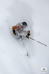 Louis finds some new snow at Alta ski resort (Dane Cronin) Tags: city travel winter lake snow ski mountains canon utah wasatch skiing salt powder alta altaskiresort 5dmarkiii louisarevalo
