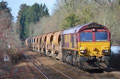 EWS 66199, Bradford on Avon (NMBS 5111) Tags: diesel trains bahn bradfordonavon ferrovia class66 ews ukrailways 66199 departmentaltrain engelsetreinentrainsanglaisbritischezuege