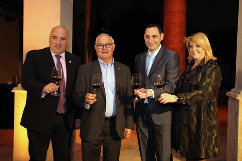 José Miguel Medina, José Luis Robredo, Diego Morcillo y Silvia Soria