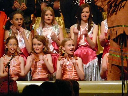 2009 Calamity Jane 58 (back left Emma Colton)