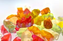 Gummi Fun (mazzmn) Tags: red green yellow candy gummibears