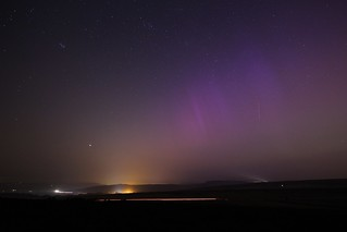Aurora Borealis Display Over The Peak District 2015