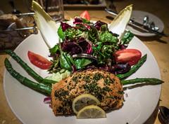 Sea Food Diet (ehpien) Tags: sea food usa salad salmon maryland bethesda thecheesecakefactory dsc02437 3652015 20feb2015