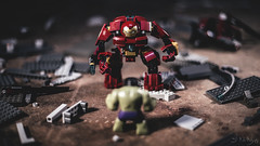 Hulkbuster (3rd-Rate Photography) Tags: brick canon toy 50mm lego florida action ironman plastic figure jacksonville 365 minifig hulk avengers minifigure toyphotography hulkbuster 5dmarkiii earlware 3rdratephotography ageofultron