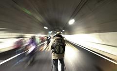 Yamate Tunnel () (christinayan01) Tags: man japan tokyo highway long exposure photographer ground tunnel