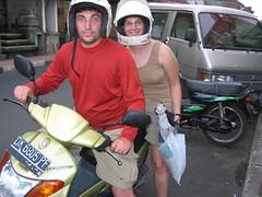 Us on a Motorbike