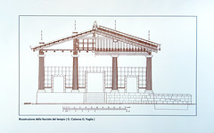 Etruscan Temple Elevation (front)