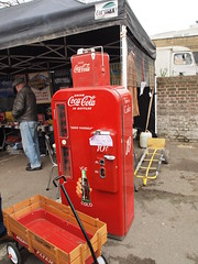 Coca -Cola old school (Cath Dupuy) Tags: london cars ford chevrolet thames vintage austin river shopping 60s riverside sale cadillac retro southbank 50s cocacola morris rocknroll timeout classiccars stalls bricabrac 40s bootsale mannequi dayouy