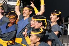 LA Matsuri Taiko group, Los Angeles (vtpoly) Tags: california people smile smiling musicians america japanese la us losangeles faces group smiles culture taiko drumming drummers matsuri obon nishi japanesefestival 2016 hongwanji lamatsuritaiko polywoda