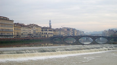 my memories of Florence are slowly fading - HSS! (lunaryuna) Tags: city urban italy panorama painterly weather architecture buildings reflections florence mood cityscape memories bridges lunaryuna weir urbanlandscape riverarno rivershores millenialplaces