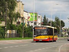 Solaris Urbino 18 III, #8516, MZA Warszawa (transport131) Tags: bus autobus ztm warszawa solaris urbino mza warsaw