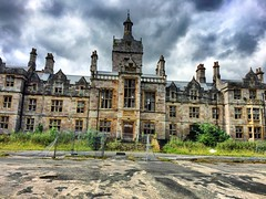 Denbigh Asylum. (-Alii Jones) Tags: dangerous closed secret ruined dust rust mold trespass architecture gorgeous happy gothicbuilding historic illness mosthaunted haunted history adventure exploring explore urbanexploring urbex lost gloomy moody dull clouds mood views stunning windows glass hiddengem hidden welsh victorian gothic old derelict beautiful smashed broken noentry notrespassing forgotten decayed decay mentallyill mentalhealth insane mentallyinsane mental england wales uk building abandoned northwaleshospital hospital mentalhospital asylum denbigh denbighasylum aliijonesphotography