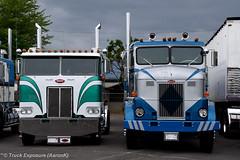DeBoer Peterbilt 352 & 350 (Truck Exposure) Tags: coe cabover
