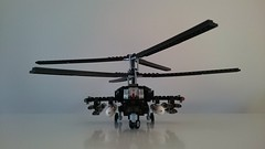 Kamov KA-50 Black Shark (Luka R) Tags: lego military helicopter kamov ka50 black shark acula chernaya