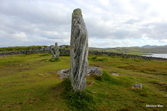 Callanish stone (mootzie) Tags: historygeography callanish stones grey grass green lewis gneiss ancient scotland outer hebrides