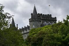 Château d'Inveraray vu depuis le jardin